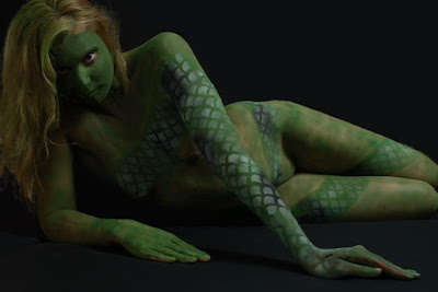 Natural Body Painting Styles