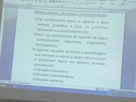 GENEROS TEXTUAIS, LETRAMENTO E MULTICUTURALISMO