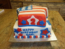 Cam's 2nd Birthday/4th of July cake