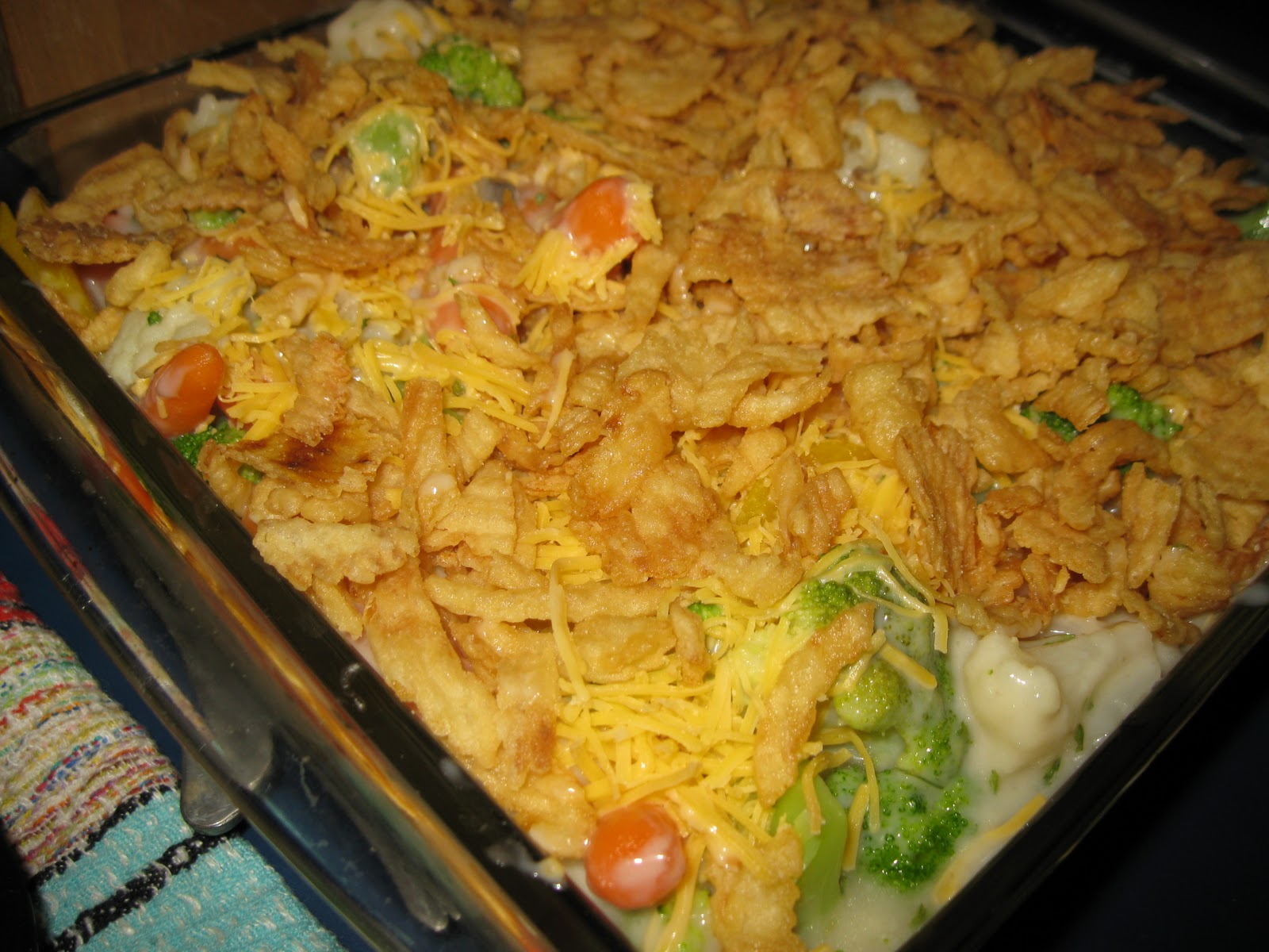 Bariatric Foodie: Leftovers Week: Vegetable & Turkey Casserole
