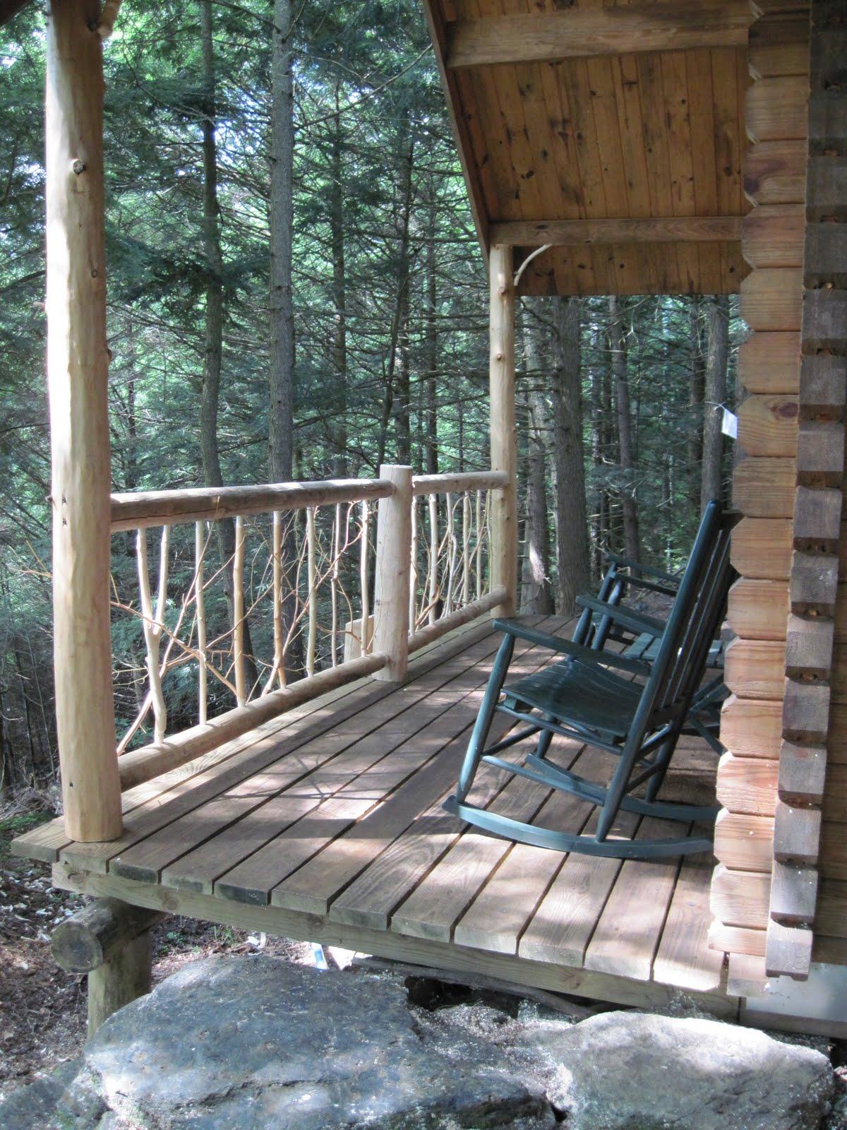 Go Rustic Rustic Cabin Railing