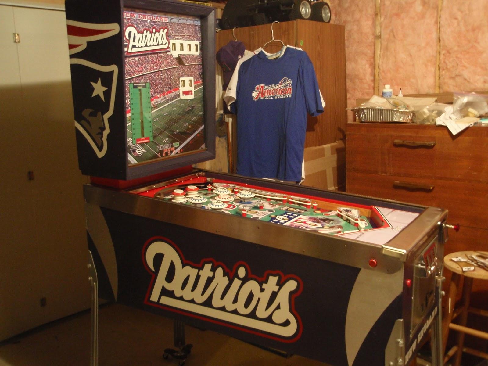 Gameroompinball Com New England Patriots Pinball Complete