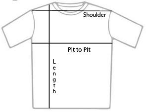 Tshirt measurement