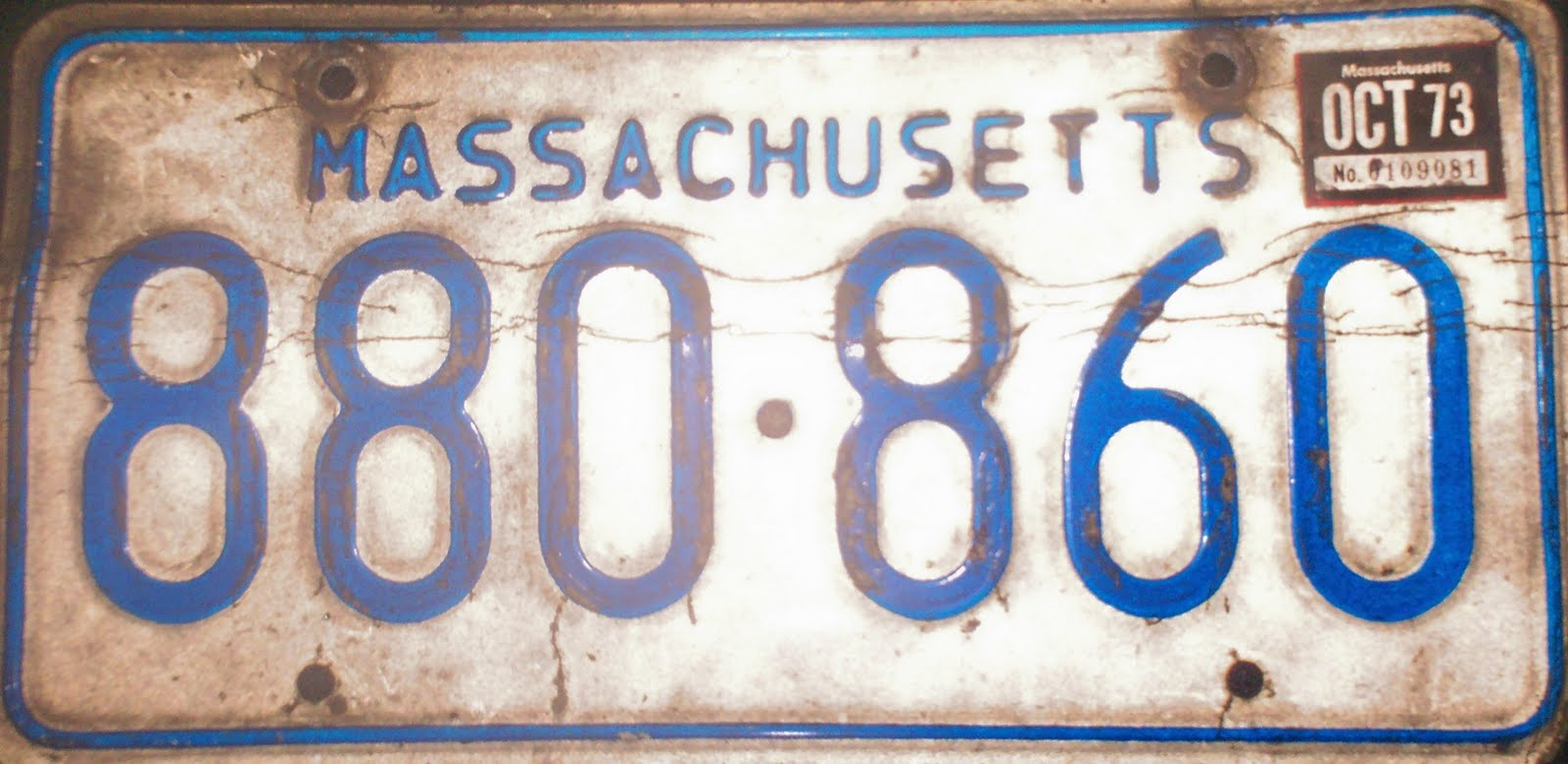 New England Travels: License Plates