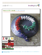 Zulu flowerette chain