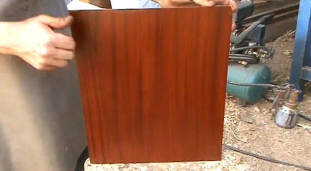 Decoraciones manualidades en madera como imitar la madera - Como pintar puertas de sapeli ...