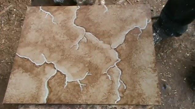 Decoraciones manualidades en madera como hacer una for Como hacer marmol
