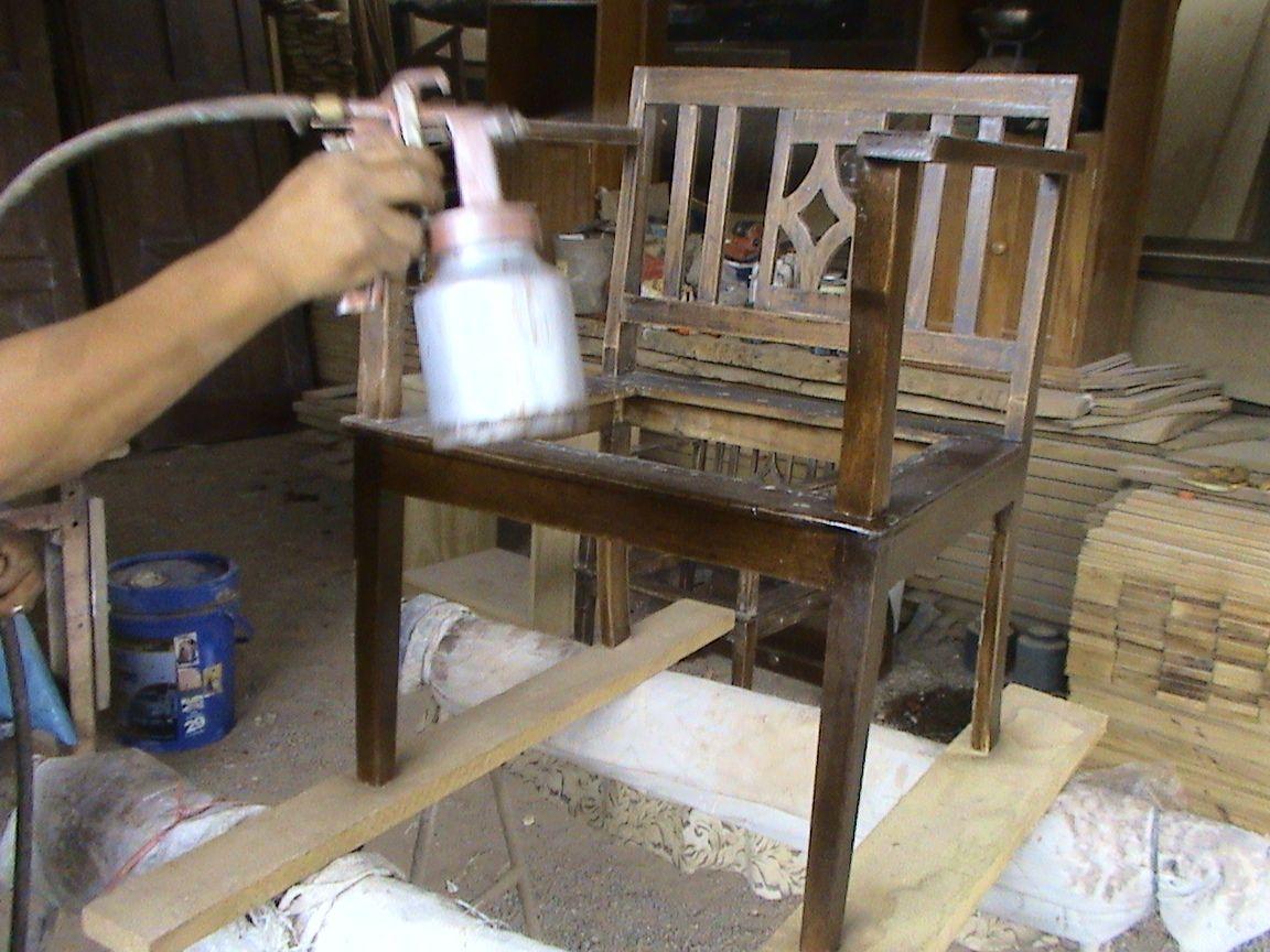 Decoraciones manualidades en madera como reparar un - Como pintar madera en blanco ...