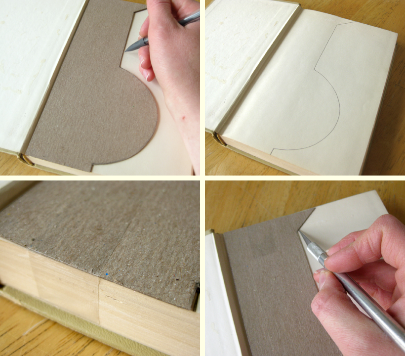 how to make a fake knife out of cardboard template