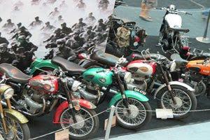 รถมอเตอร์ไซค์ โบราณ (Old Motorcycle)