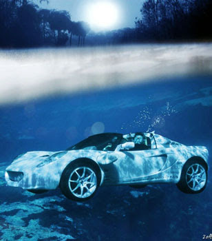Squba world's first swimming car