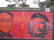 El Che and Simon Bolivar