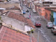 Tourist town in Guatemala