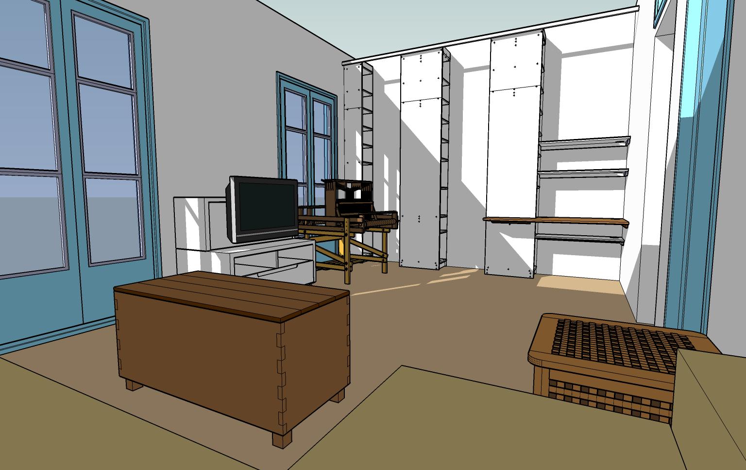 sn architecture google sketchup. Black Bedroom Furniture Sets. Home Design Ideas
