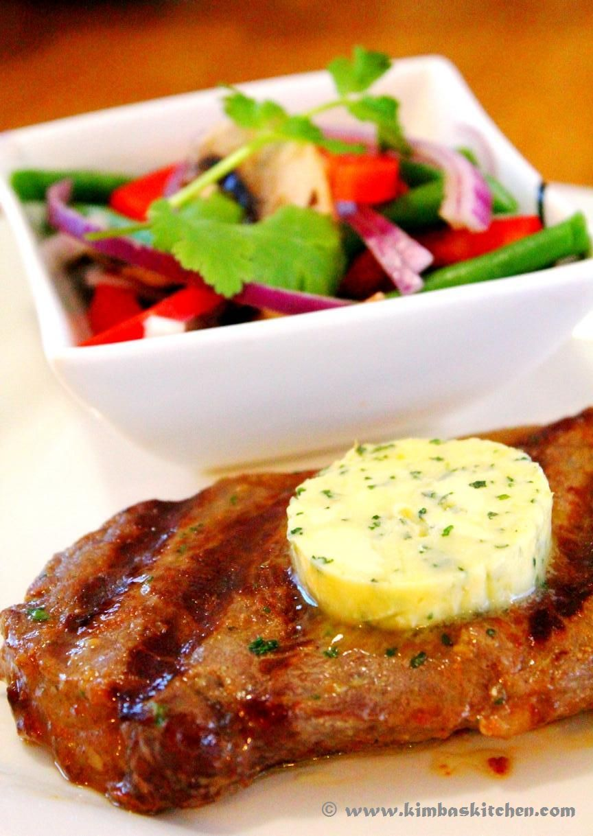 Kimba's Kitchen: Grilled Porterhouse Steak with Garlic Butter