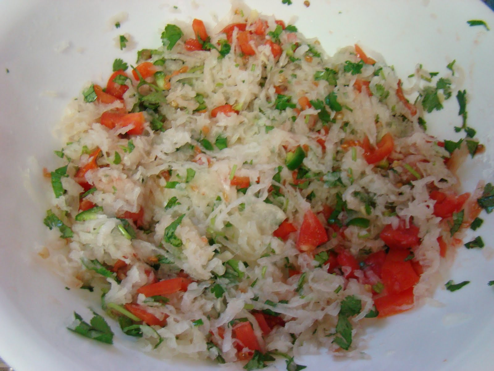 My Favorite Recipes Collection: Daikon/Radish Salad/ Mooli ...