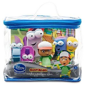 bath toy set-handy manny