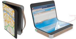 Traveller Concept Laptop-Futuristic