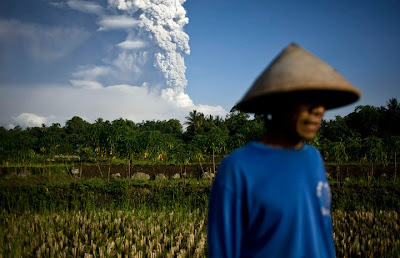 Merapi Volcano Eruption 2010