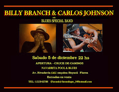 Billy Branch &amp; Carlos Johnson en Argentina!!!