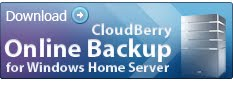 CloudBerry Backup for WHS