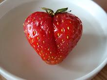 Jordbærhjerte
