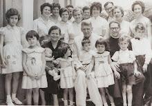Meus avós, alguns filhos e netos