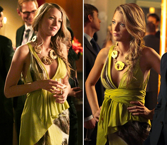 blake lively gowns. Woodsen (Blake Lively):