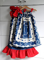 Tutorial: Patriotic Pillowcase Dresses