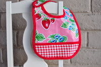 Pattern: Oilcloth Baby Bib