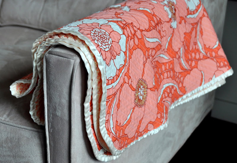 Aesthetic Nest Sewing Heirloom Cut Chenille Baby Blanket