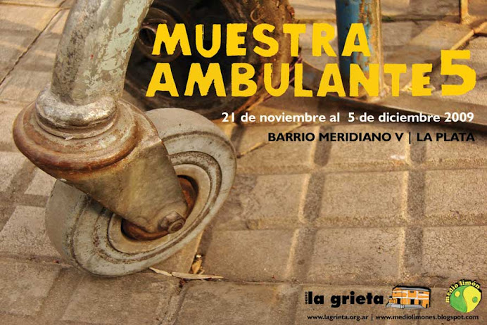 Muestra Ambulante 5 - Meridiano V