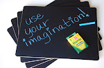 looking for the chalkboard place mats?