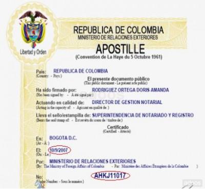 legalizacion de los documentos publicos extranjeros: