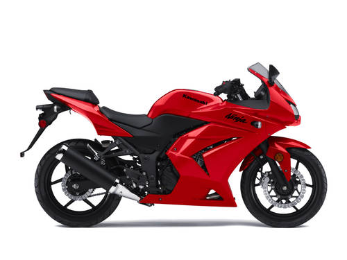 Kawasaki 250cc Ninja Bike. ride a Kawasaki Ninja 250R