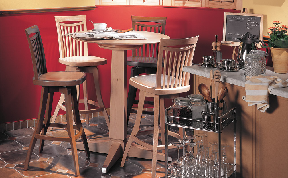 Landfair On Furniture A Look At Dinec Bar Stools