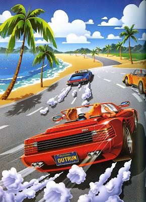 Outrun artwork