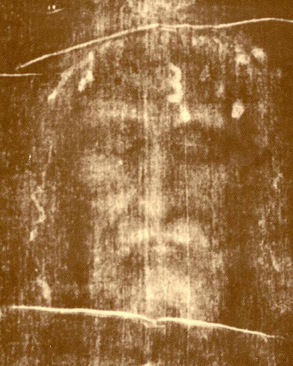 Shroud Of Turin Negative