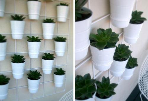 mini jardim de temperos : mini jardim de temperos:que tal usar canecas no lugar de vasos?