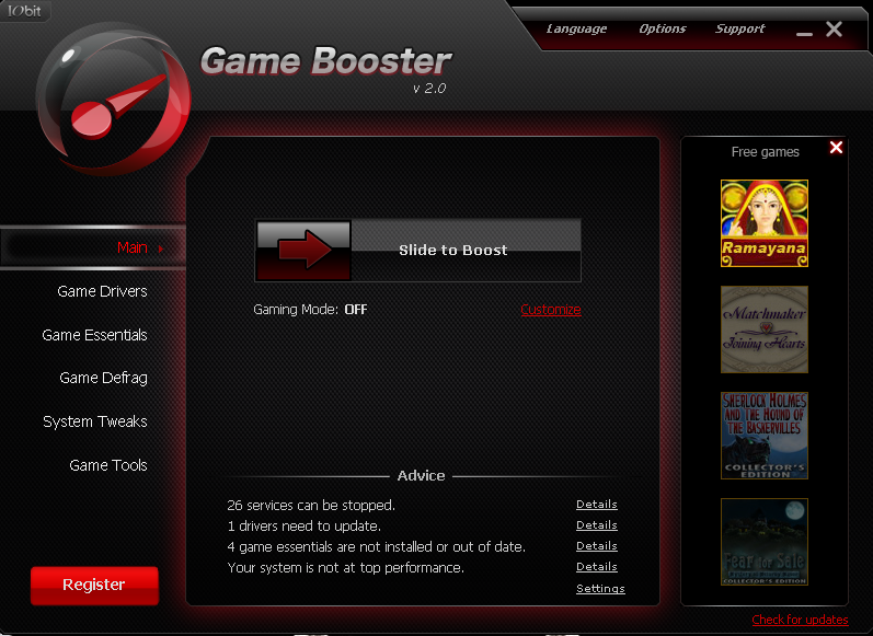 Game Booster 2.