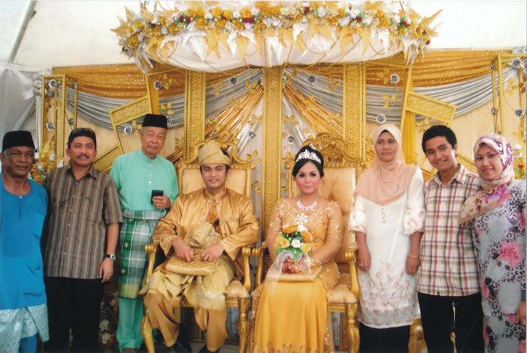 Pg Rahim, Pg Abdullah & Keluarga Bersama Pengantin