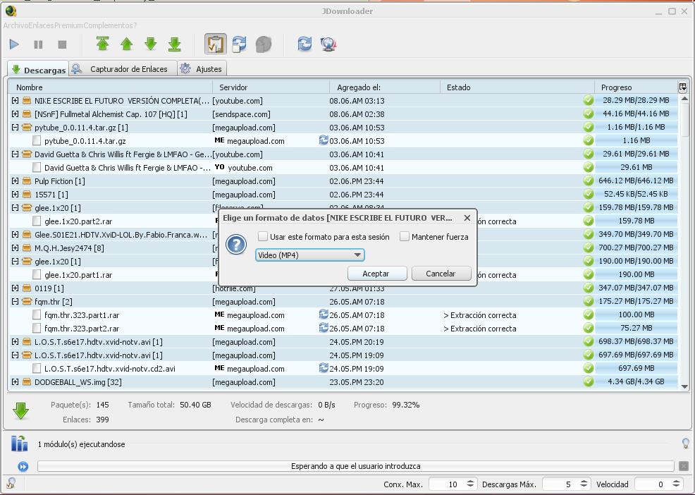 Jdownloader En Espanol 2012