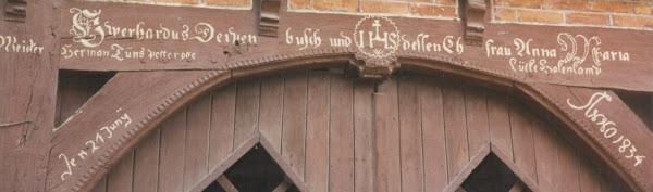 Depenbusch 1834 Ancestral home near Bokel