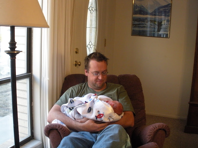 Daddy and Hayden