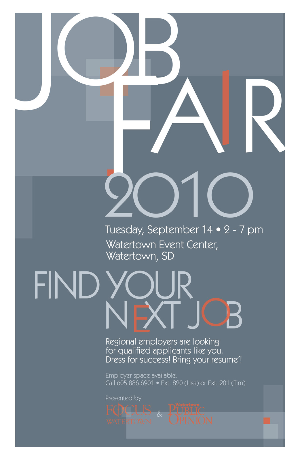 TWKeller: Job Fair 2010 Poster