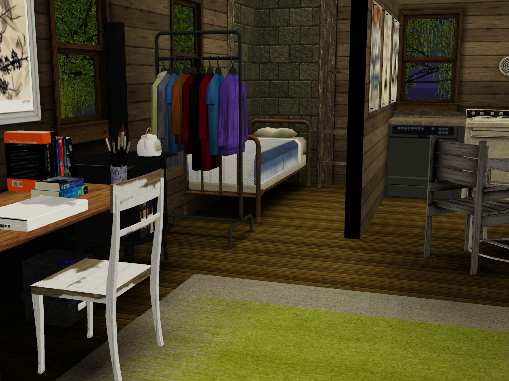 Interior design inspiration for the sims 3 for Sim interior designs