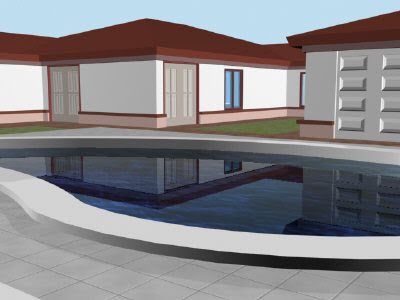 house done in 3ds max 9.