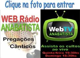 Ouça a  rádio Anabatista