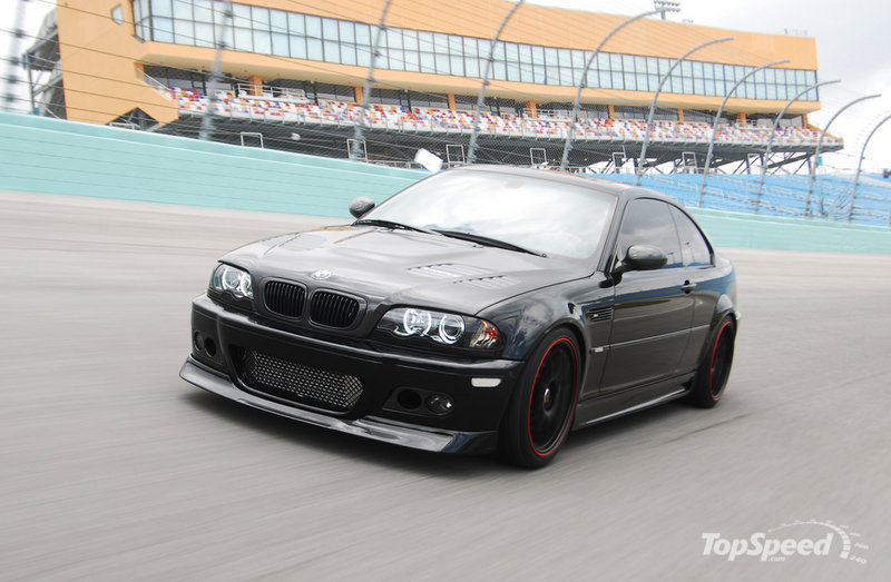Tony Kanaan BMW M3 tuning