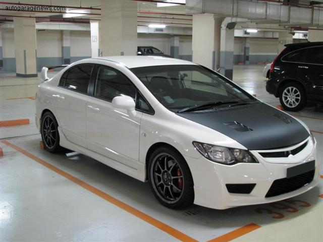 Type R Crv >> Honda Civic FD with OZ Alleggerita